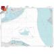 "Miscellaneous International :NGA Chart 11461: Straits Of Florida, Approx. Size 21"" x 28"" (SMALL FORMAT WATERPROOF)"