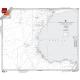 "Miscellaneous International :NGA Chart 125: North Atlantic Ocean Southeastern Sheet, Approx. Size 21"" x 26"" (SMALL FORMAT WATERPROOF)"