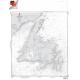 "Miscellaneous International :NGA Chart 14024: Island Of Newfoundland, Approx. Size 21"" x 31"" (SMALL FORMAT WATERPROOF)"